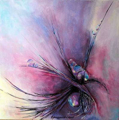 Nature Abstracts Painting - Difference by Francoise Dugourd-Caput