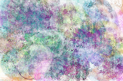 Abtract Digital Art - Digital Abstract II by Debbie Portwood