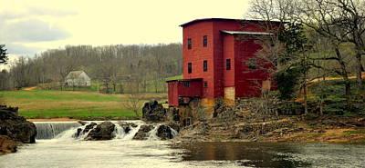 Dillard Mill 2 Print by Marty Koch