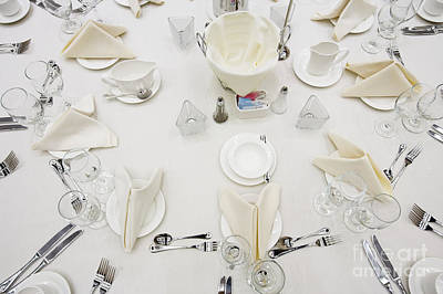 Dining Out Photograph - Dining Table by Andersen Ross