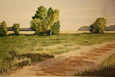 Dirt Road 1 Print by Jeff Lucas