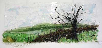 Dirt Road Print by Mariann Taubensee