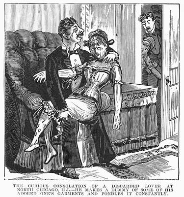 Discarded Lover, 1890s Print by Granger