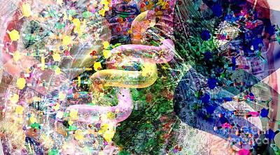 Biochemical Digital Art - Dna Dreaming 2 by Russell Kightley