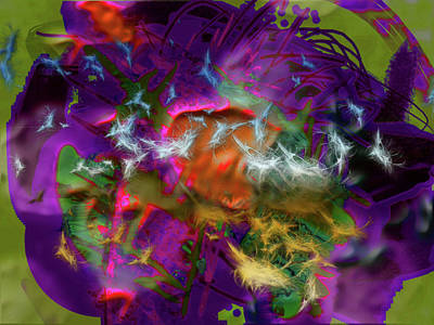 Other Worlds Digital Art - Do You Know All Your Buttons by James Thomas