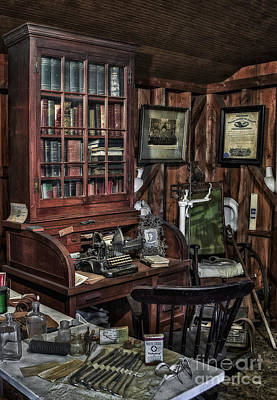 Books Photograph - Doctor's Office by Susan Candelario