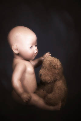 Doll And Bear Print by Joana Kruse