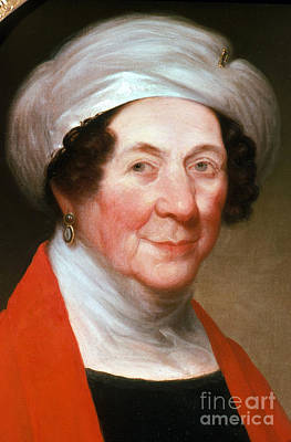 Dolley Photograph - Dolley Madison by Photo Researchers