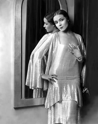 1920s Fashion Photograph - Dolores Del Rio, 1929 by Everett