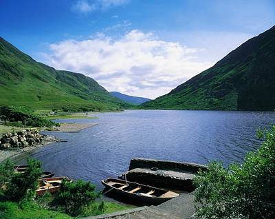 Adventuresome Photograph - Doo Lough, Delphi, Co Mayo, Ireland by The Irish Image Collection