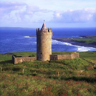 Doonagore Tower Photograph - Doonagore Castle, Co Clare, Ireland by The Irish Image Collection