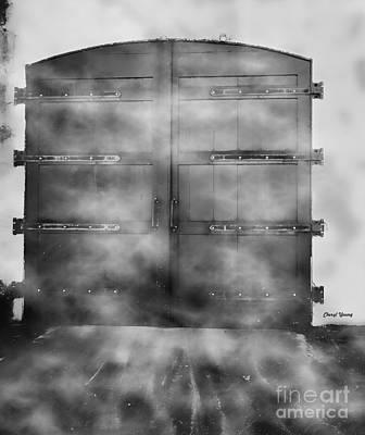 Door 3 Print by Cheryl Young