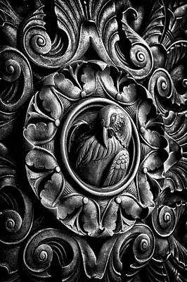 Black Russian Studio Photograph - Door Detail 2 by Val Black Russian Tourchin