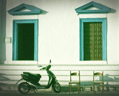 Doors And Chairs Print by Joana Kruse
