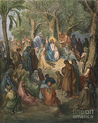 Dore: Sermon On The Mount Print by Granger