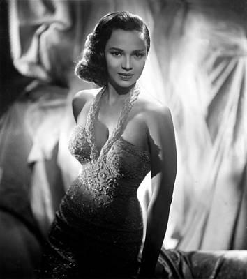 1950s Fashion Photograph - Dorothy Dandridge, Circa 1959 by Everett