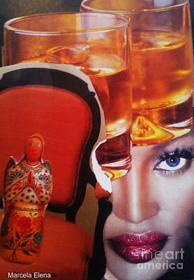 Doubting Mixed Media - Doubts by Marcela Elena Moada