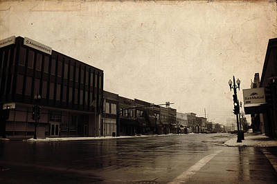 Fox Valley Photograph - Downtown Neenah by Joel Witmeyer