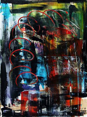 Downwards Print by Terrance Prysiazniuk