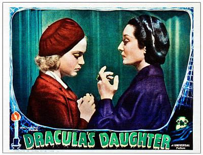 Draculas Daughter, From Left Nan Grey Print by Everett