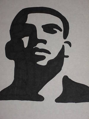 Drake Drawing - Drake by Damian Howell