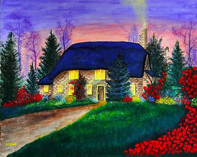Dream Cottage Original by Jeanette Keene
