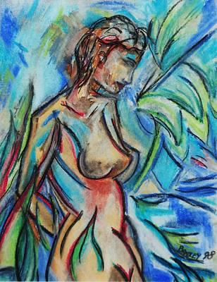 Dream Girl 98 Print by Bradley Bishko