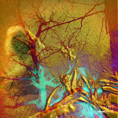 Yesayah Mixed Media - Dream Something Real by Fania Simon