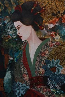 Mixed Media - Dreaming Japan by Gonca Yengin