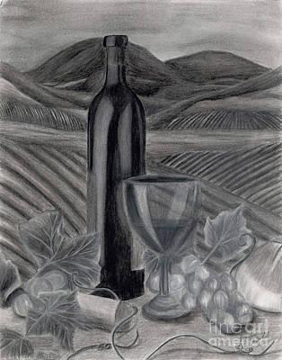 Dreams Of Tuscany Print by Jennifer LaBombard