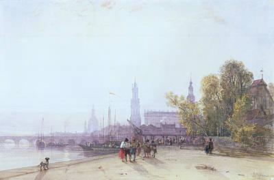 Dresden Print by William Wyld