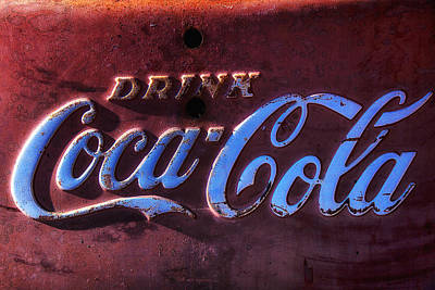 Coca Cola Sign Photograph - Drink Coca Cola by Garry Gay