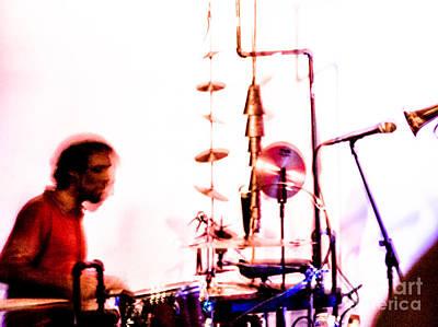 Droid - Drums Amir Ziv Print by Jim DeLillo