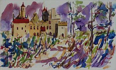 Architecture Painting - Dromore by Phong Trinh
