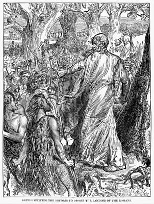 Druids Print by Granger