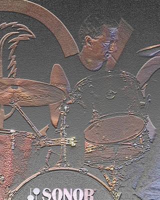 Drummer Boy Original by Joseph G Holland