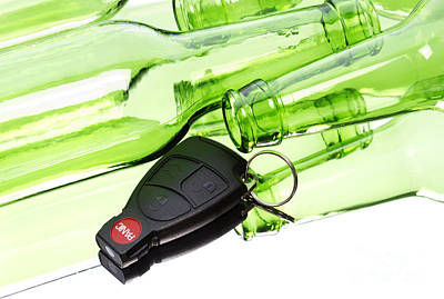 Drunk Driving Print by Blink Images