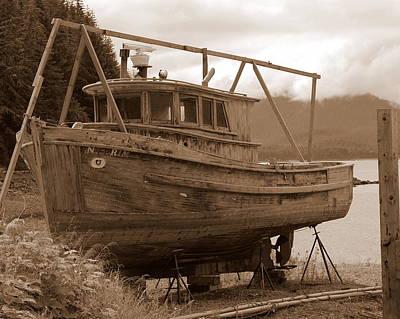 Dry Dock Print by Al Cash