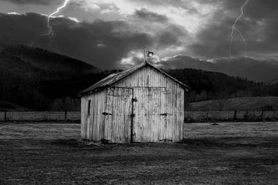 Dry Storm Print by Ron Jones