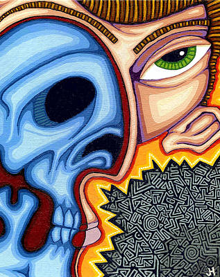 Inner Self Painting - Duality by Jason Hawn