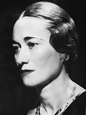 Duchess Of Windsor Wallis Simpson Print by Everett