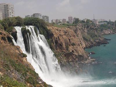 Duden Waterfalls In Turkey Print by