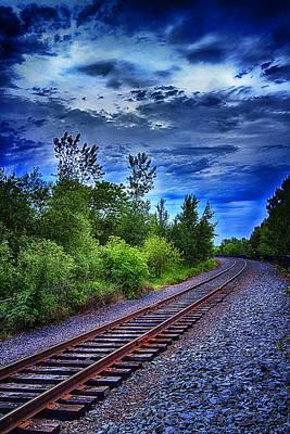 Duluth Railway Print by Linda Tiepelman