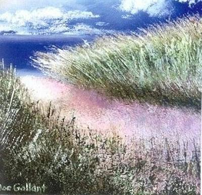 Sand Dunes Painting - Dune Path by Joseph Gallant