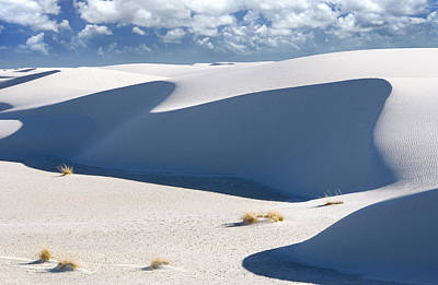 Abstarct Photograph - Dunes At White Sands New Mexico by Bryan Allen