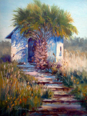 Painting - Dunes Chapel by Tina Bohlman