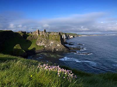 Portrush Photograph - Dunluce Castle, County Antrim, Northern by Chris Hill