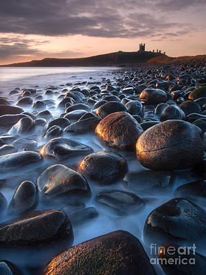 Dunstanburgh Photograph - Dunstanburgh Castle Sunrise by John Potter