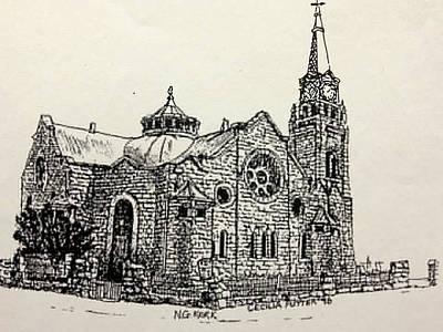 Dutch Reformed Church Original by Cecilia Putter