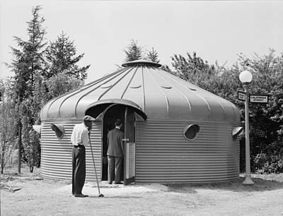 Dymaxion House, Designed By Futurist Print by Everett